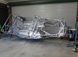 Chassis ready for painting