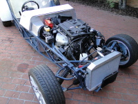 Locost clubman engine bay